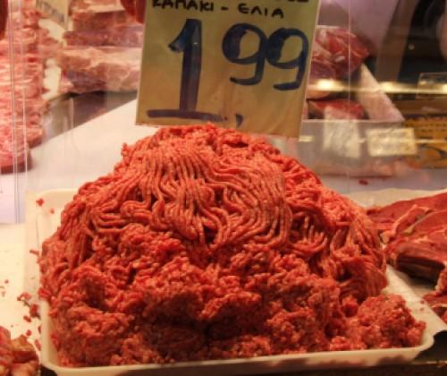 Hackfleisch mit resistenten Keimen
