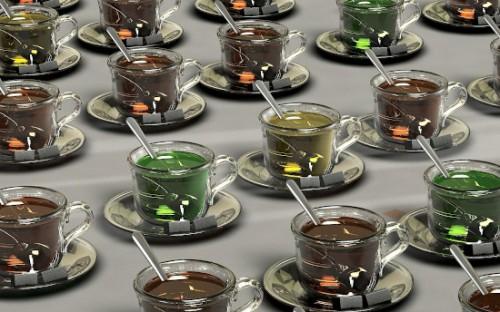 Löffel mit Currywurst-Aroma oder Kakao-Geschmack
