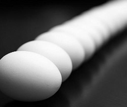 Dekontamination von Eierschalen