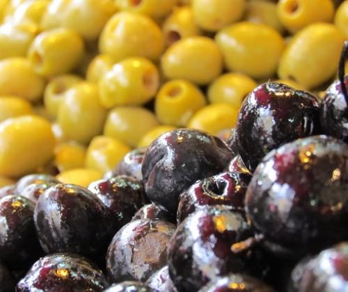 Acrylamid in eingelegten Oliven
